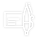 Check and pen icon